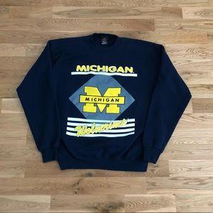 Vintage 90's Michigan Wolverines Crewneck Sweater